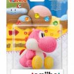 WiiU Yoshi's Woolly World + amiibo Yarn Yoshi Pink3115731157