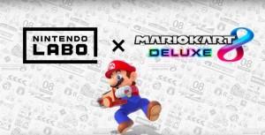 Nintendo Labo a Mario Kart 8 Deluxe jsou nyní kiompatibilní