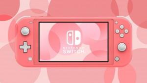 Nová konzole Nintendo Switch Lite korálové barvy dorazí do Evropy 24. dubna