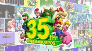 Nintendo slaví 35. výročí Super Mario Bros. hrami, produkty a herními událostmi