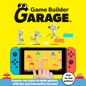 Game Builder Garage pro Nintendo Switch se 10. září objeví v evropských obchodech